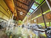 【露天風呂】霊峰白山からの爽やかな風を感じながらくつろげる露天風呂