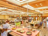 【レストラン】朝食はバイキング形式で和食、洋食をご用意しております