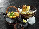 松茸天ぷら&松茸と鮑の土瓶蒸し