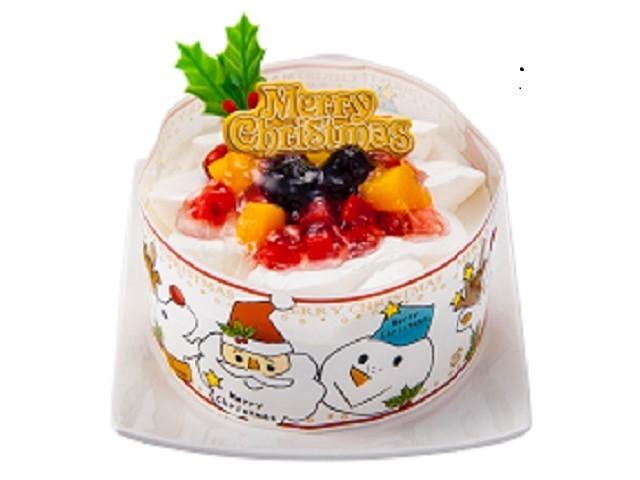 豆乳クリームのXmasケーキ