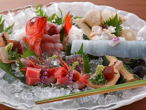 春告げ鮮魚7種盛り