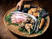 加賀産食材の数々