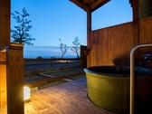 【露天風呂付客室】客室の一例 ※客室露天は沸かし湯です