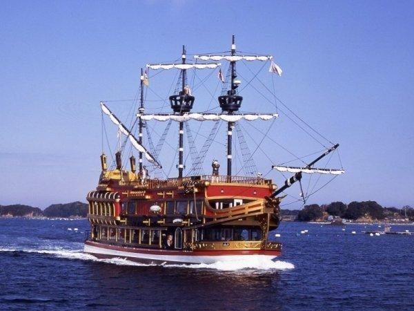【賢島エスパーニャクルーズ】帆船型遊覧船「エスペランサ」