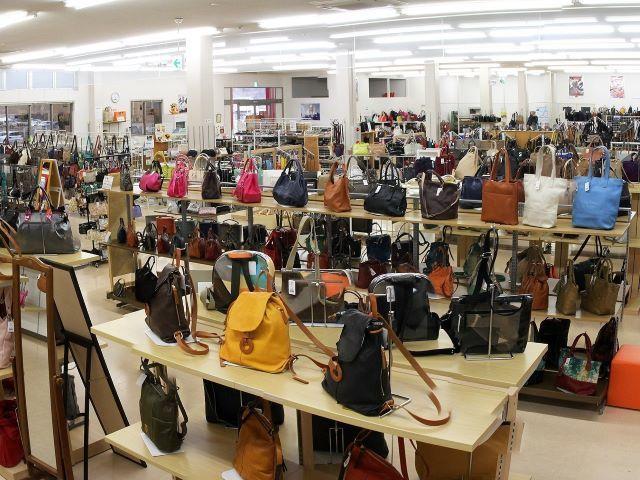 豊岡鞄直売所「かばんのたなか」