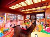 【ゲームコーナー】お子様に人気のクレーンゲームやアクションゲーム!