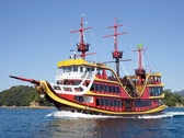 【海賊遊覧船みらい】大きな窓から九十九島をパノラマビューで!