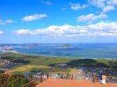 虹の松原や唐津湾の絶景を望める「鏡山展望台」