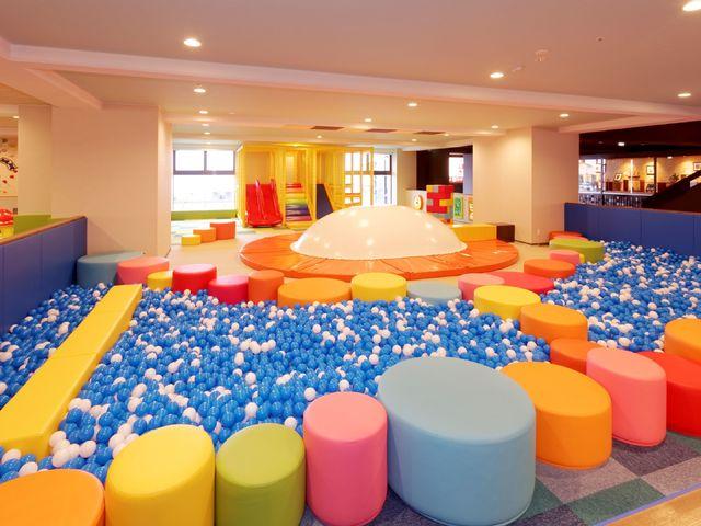 【キッズパーク(無料)】ファミリーで楽しめる!お子様が大喜びの大型遊具を設置!